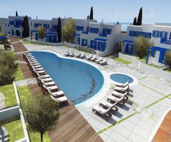 Coastal properties in Greece Paros