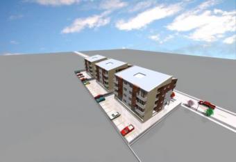 Built-up lands in Timisoara Timisoara