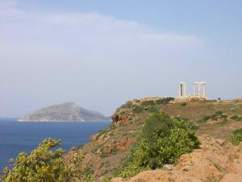 Huge lot of land near Sounio Athens