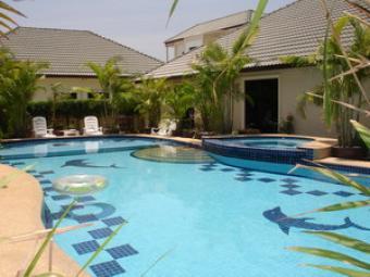 Luxury Villa large Pool 4 Sale Hua Hin
