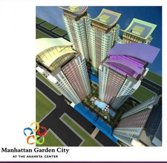 Manhattan Garden City in Araneta Quezon City