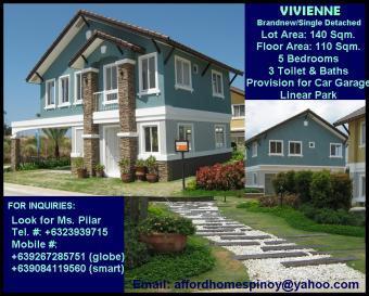 HOUSE & LOT VIVIENNE 5BEDROOMS Bacoor