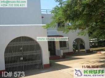 A five bedroom house to let in o Mombasa