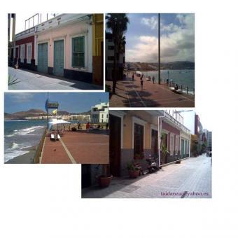 building land close to the beach Las Palmas