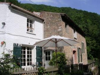 Renovated watermill, S.W.France Durfort