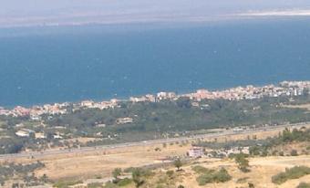 Land with panoramic view Izmir