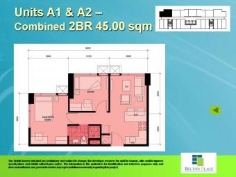 Brand New, 2 Bedroom RFO Guadalupe Station