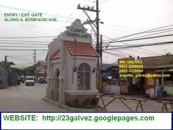 CAINTA GREENLAND LOT FOR SALE Cainta